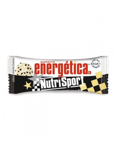Pack 24 barritas energética sabor Cookie de Nutrisport