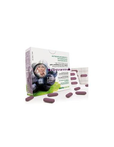 Resverasor Plus 28 comprimidos Soria Natural