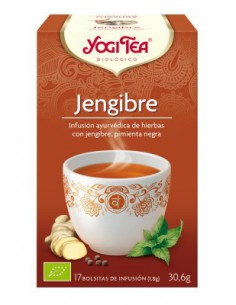 Yogi Tea Jengibre bolsitas