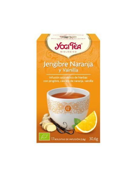 Yogi Tea Jengibre Naranja y Vainilla Bolsitas