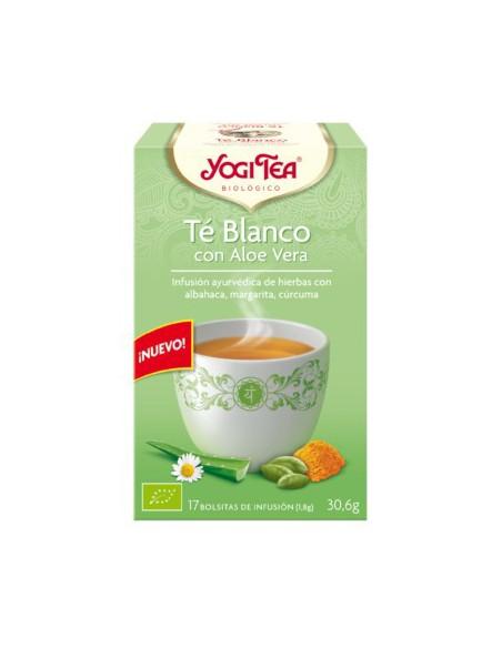Yogi Tea Te Blanco con Aloe Vera Bolsitas
