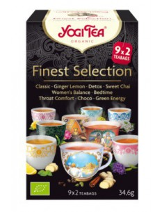 Yogi Tea Finest Selection Bolsitas