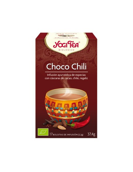Yogi Tea Choco Chili Bolsitas