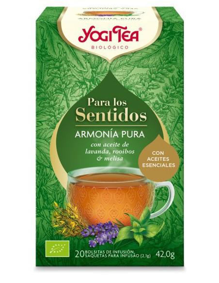 Yogi Tea Para los sentidos Armonía Pura