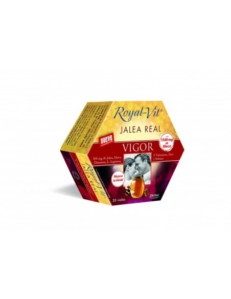 Royal Vit Jalea Real VIGOR con 1500 mg de Maca Dietisa