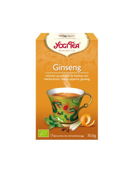 Yogi Tea Ginseng Bolsitas