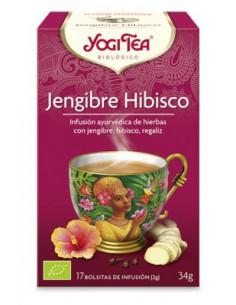 Yogi Tea Jengibre Hibisco bolsitas