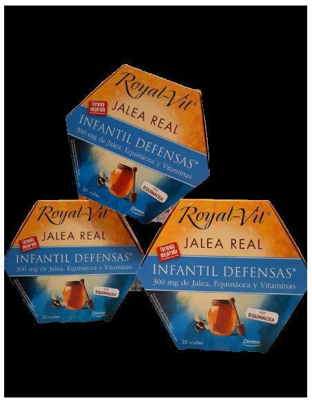 royal vit jalea realinfantil oferta 3 uds