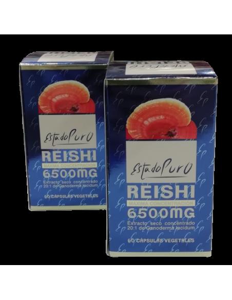 Pack (2uds.) Reishi 6500 Estado Puro Tongil 60 cps