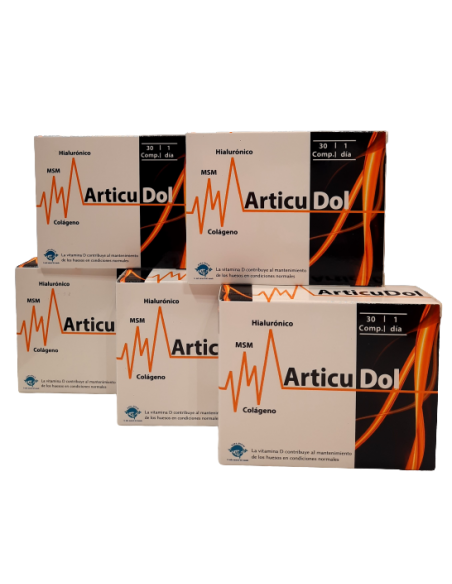 Pack (5 uds.) Articudol 30 comprimidos Espadiet