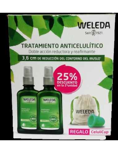 Pack Tratamiento Anticelulítico Aceite de Abedul Weleda