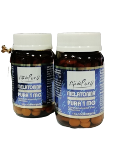 Pack (2 uds.) Melatonina Pura 1mg Estado Puro 180 comp Tongil