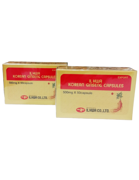 Pack (2 uds.) Ginseng Il Hwa 50 cps Tongil