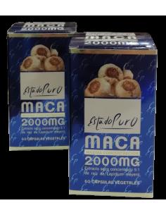 Pack (2uds) Maca 2000 Estado Puro Tongil 60 cps