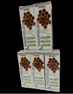 propoleo extracto soria natural pack herbodelicias