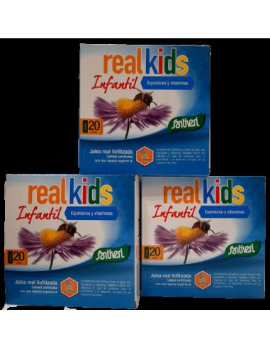 Pack ( 3 unds) Real Kids Santiveri
