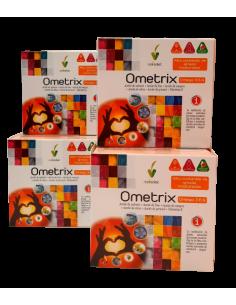 Pack (4 uds.) Ometrix omega 3 6 9 Novadiet