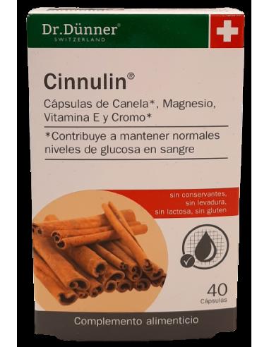 Cinnulin 40 cps. Dr. Dünner