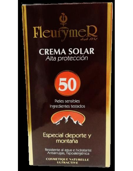 Crema Solar Deporte Montaña Fc 50 - Fleurymer - 80ml