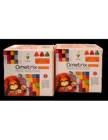 Pack (2 uds.) Ometrix omega 3 6 9 Novadiet