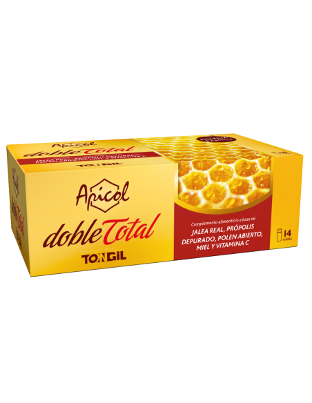 Apicol Doble Total Tongil 14 viales