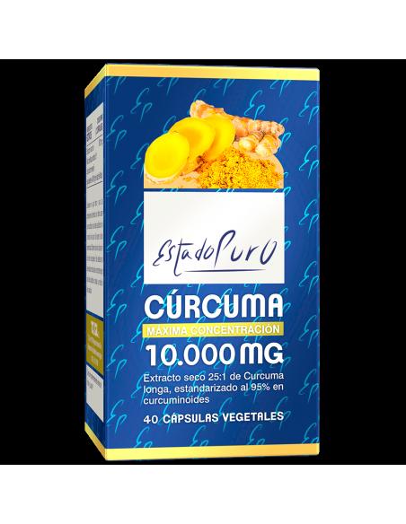 Curcuma - 10.000 - Estado Puro - Tongil - 40 cps