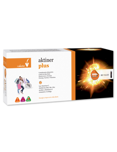 Aktiner Plus Novadiet 20 viales