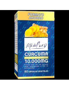 Curcuma 10.000mg Estado Puro Tongil 80 cáps