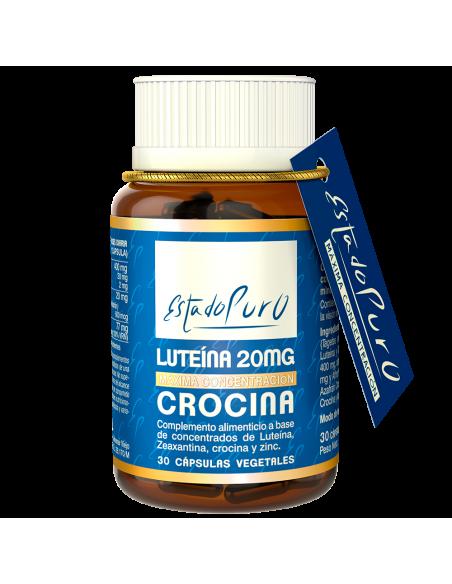 Luteína 20 mg Crocina Estado Puro Tongil
