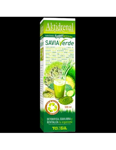 Aktidrenal Savia Verde - Tongil - 500 ml