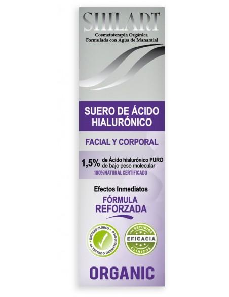 Suero de Ácido Hialurónico Facial y Corporal 1,5% Shilart