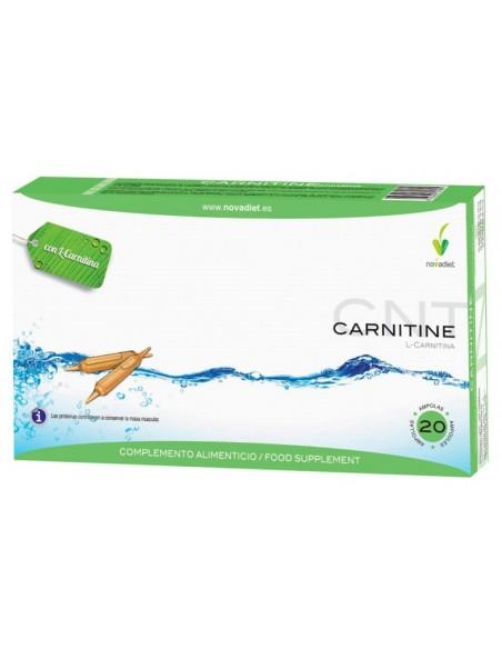 CARNITINE Novadiet 20 ampollas