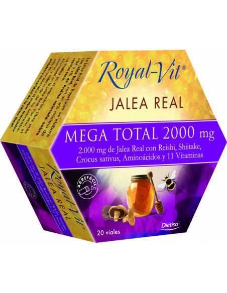 ROYAL VIT Jalea Real Mega Total  2000 Dietisa
