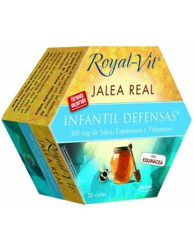 ROYAL VIT Jalea Real Infantil Defensas Viales Dietisa