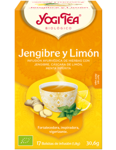 Yogi Tea Jengibre y Limón Bolsitas