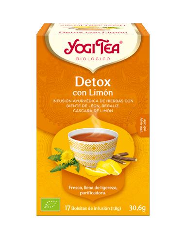 Yogi Tea Detox con Limón Bolsitas