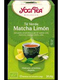 Yogi Tea Te verde Matcha Limón Bolsitas