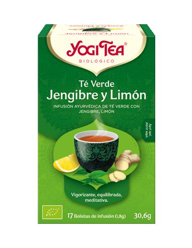 Yogi Tea Te Verde Jengibre y Limón...