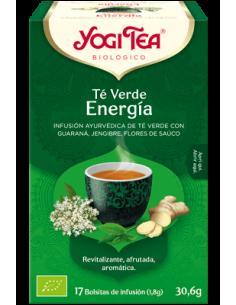 Yogi Tea Te Verde Energía bolsitas