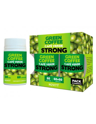 GREEN COFFEE (CAFE VERDE) STRONG