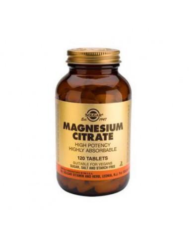 Citrato de Magnesio Solgar 120 cps